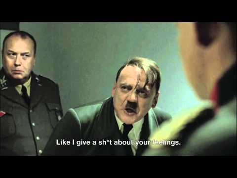 Hitler Finds Out About Herman Cain's Sex Scandal