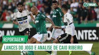 Veja como foi a reportagem da partida entre Coritiba x Palmeiras no Globo Esporte. Caio Ribeiro analisa a partida e fala de...