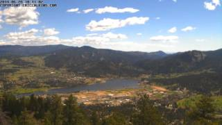 2014-06-28 - Estes Park Prospect Mountain Two Time-Lapse