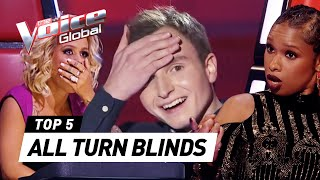 Video The Voice | Best 'ALL TURN' Blind Auditions worldwide [PART 3] MP3, 3GP, MP4, WEBM, AVI, FLV Februari 2019