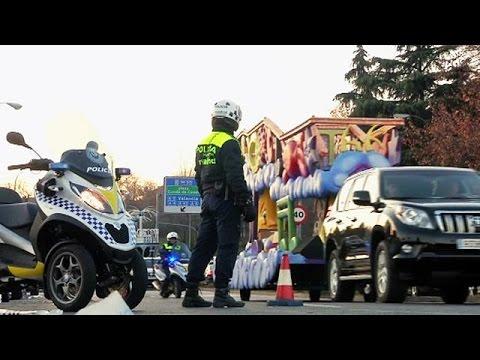 Ισπανία: Δρακόντεια μέτρα ασφαλείας για την γιορτή των «Τριών Μάγων»