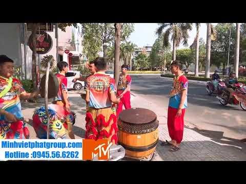 Lễ Khai Trương Sàn Giao Dịch Bắc Sài Gòn Với Màn Biểu Diễn Lân Sư Rồng của Hiệp Nghĩa Đường .