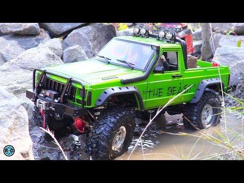 RC Jeep Crawler Comanche & RC Scaler Land Rover Defender
