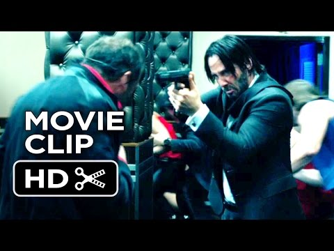 John Wick Movie CLIP - Bar Fight (2014) - Keanu Reeves, Willem Dafoe Action Movie HD