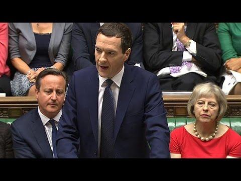 Με έμμεση αναφορά στην Ελλάδα η παρουσίαση του Βρετανικού Προϋπολογισμού