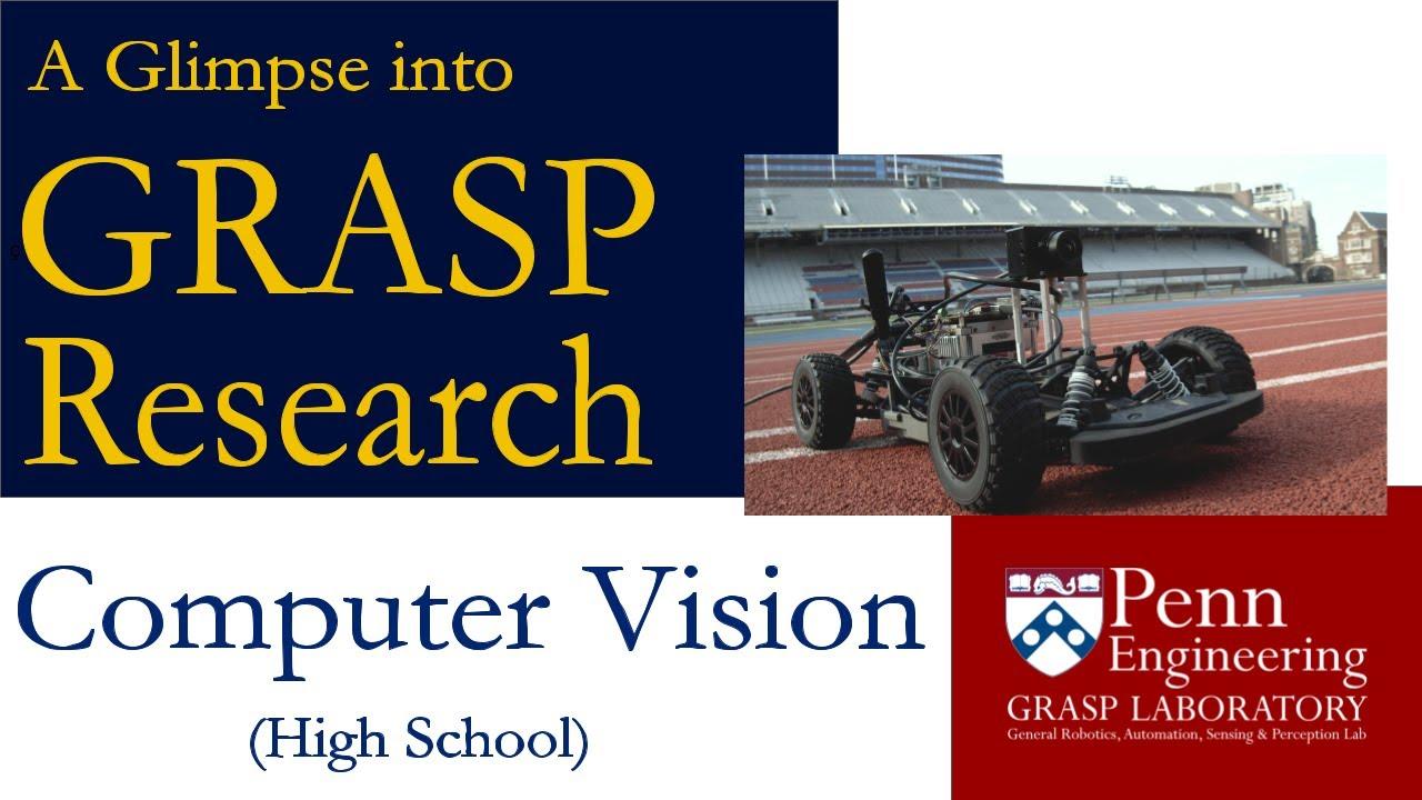 A Glimpse Into GRASP Research: Computer Vision