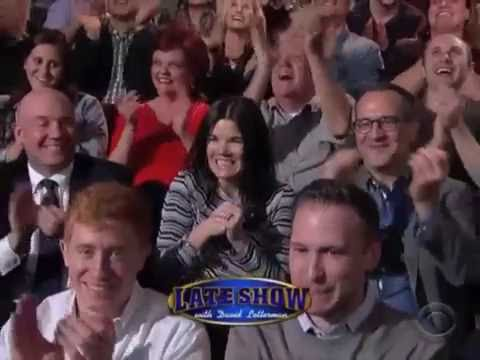 Colleen Boyle Remote on Letterman, 1986, 2015