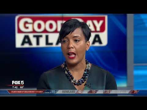 Atlanta mayoral candidate Keisha Lance Bottoms speaks about runoff