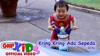 Video Kring Kring Ada Sepeda - Vito - Lagu Anak MP3, 3GP, MP4, WEBM, AVI, FLV Januari 2019