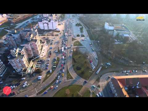Oradea privit printre nori by Amazing Visuals