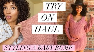 Try on pregnancy/maternity haul// Dressing the bump! Hi friends! In this video I share some of my pregnancy style by featuring ...