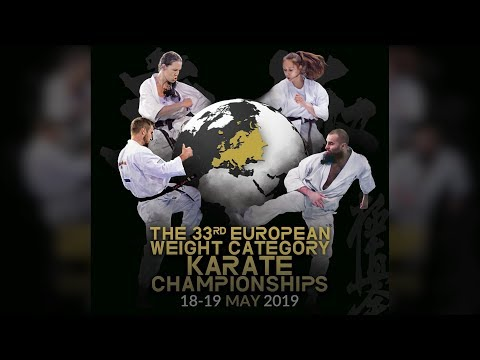 The 33rd European Weight Category Karate Championships