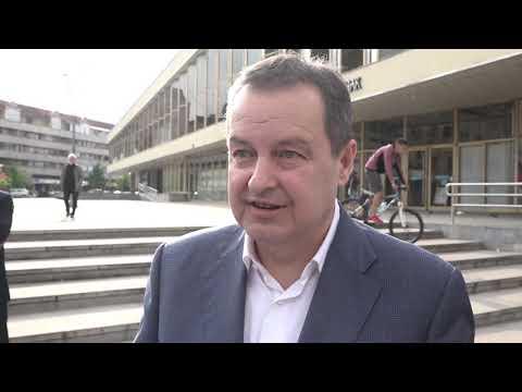ПРЕДСЕДНИK СОЦИЈАЛИСТИЧKЕ ПАРТИЈЕ СРБИЈЕ ИВИЦА ДАЧИЋ ПОСЕТИО ЧАЧАК