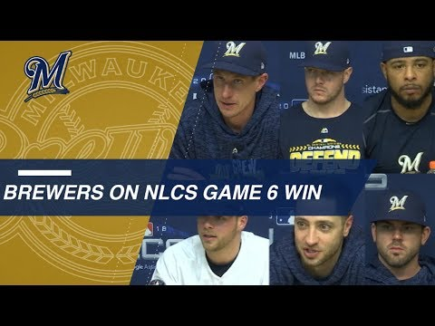 Video: NLCS Gm6: Brewers on forcing a Game 7 vs. Dodgers