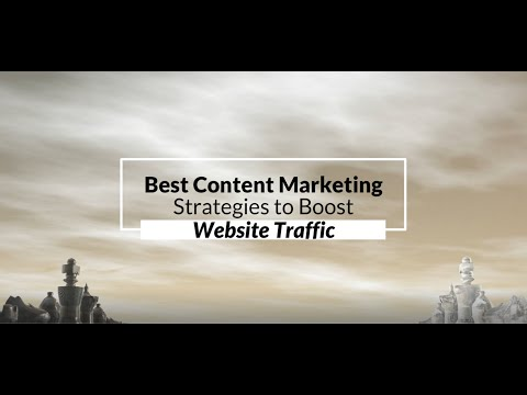 Watch 'Best Content Marketing Strategies to Boost Website Traffic - YouTube'
