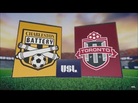 Video: Match Highlights: Toronto FC II at Charleston Battery - June 24, 2017