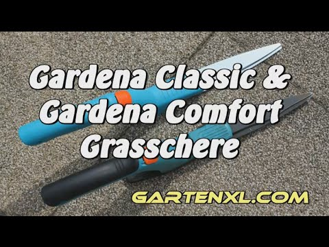 Gardena Comfort Grasschere & Gardena Classic Grasschere im Gartenvergleich Rasenscheren