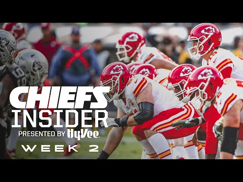 Inside Week 2 vs. Raiders | Hy-Vee Chiefs Insider