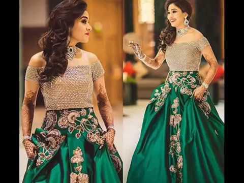 Designer Engagement Dresses For Indian Bride 2017