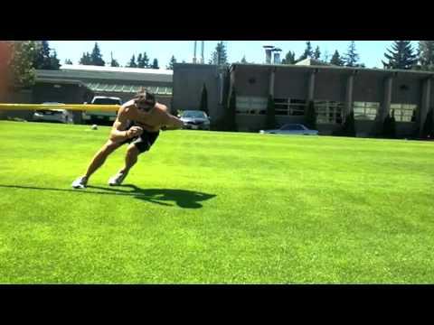 Speed Skating Dryland Training: Turn Cable