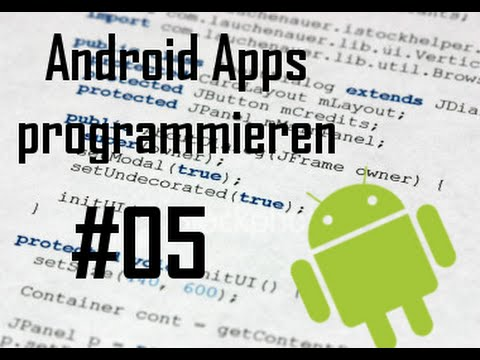 Android Apps programmieren - Teil 5 - Android Apps programmieren - Bilder und ImageViews [#05] [HD] (German)