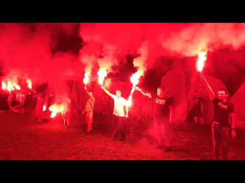 Wideo: Kibice Zagłębia ofiarom Zbrodni Lubińskiej