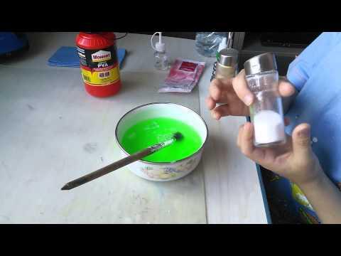 Как сделать лизуна из акварели