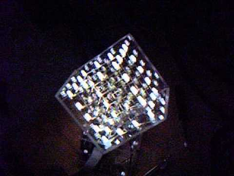 4x4x4 LED Cube by KPY3EP