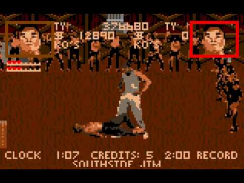 pit fighter atari st