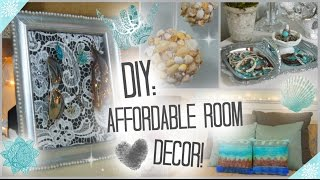 DIY: Affordable & Adorable Room Decor ♡ - YouTube