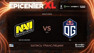 Na'Vi vs OG, EPICENTER XL, game 2 [v1lat, godhunt]