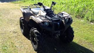 5. 2009 Yamaha Grizzly 700 Ducks Unlimited