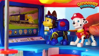 Educational Paw Patrol Rescue Mission to save Peppa Pig from a Dragon!