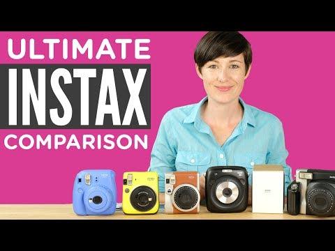 The Ultimate Fuji Instax Camera Comparison 2017