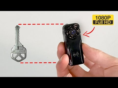 Best Mini Spy Camera UNDER $27 - RECORDS IN HD (24HRS ONLY!)