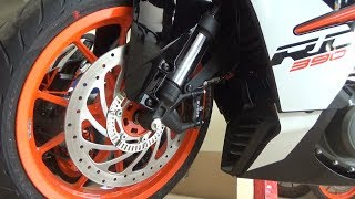 5. NEW KTM RC390 FULL WALK AROUND REVIEW WITH PRICE EXHAUST NOTE SPEC AND FEATURES