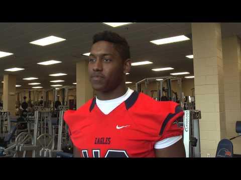 C-N Football: William Alderman uniform interview 7-24-14