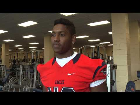 C-N Football: William Alderman uniform interview 7-24-14