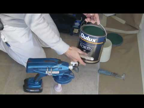 graco airless paint sprayer - Another short clip demonstrating the ProShot. You can read more on the Graco ProShot Cordless Airless Paint Sprayer at www.jackpauhl.com Painters in Elyria O...