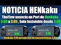TheFlow Anuncia Port de Henkaku 3.60 a 3.65  (NO ES PARA 3.65)  VER VIDEO COMPLETO