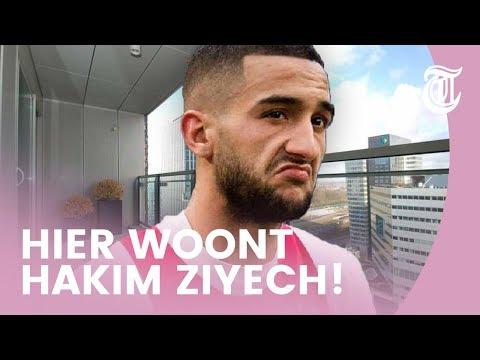 Kijkje in luxe woning Ajax-ster Hakim Ziyech - BEKENDE HUIZEN #05 (видео)