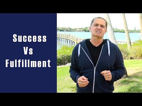 Success Vs Fulfillment