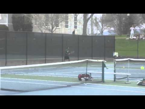 Babson Men's Tennis @ Middlebury in NCAA Tournament (5/9/14)