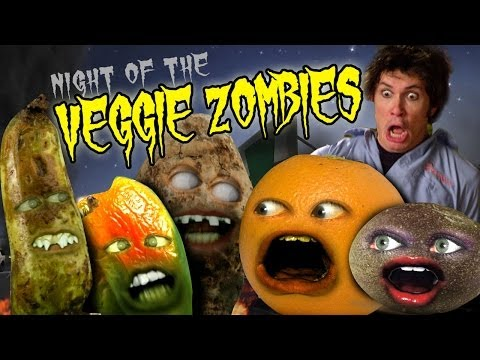 veggie - Watch the ENTIRE season #1 on Hulu without waiting!!! http://hulu.com/annoying-orange HEY! Play my new mobile game Splatter Up now! It's FREE! FREE iOS Splat...