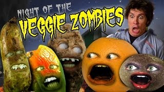 Annoying Orange HFA: Veggie Zombies (Ft. Toby Turner as Nerville!)