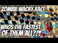 Who 39 S The Fastest Zombie  Captain Hack Wacky Race Qualifying Round  Plants Vs Zombies 2 Epic Mod