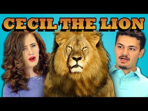 Teens React To Cecil The Lion Killed