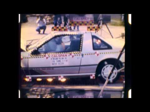 Nissan Pulsar NX/EXA (N13) | 1989 | Frontal Crash Test | NHTSA | CrashNet1