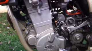 2. 2004 KTM 525 SMR