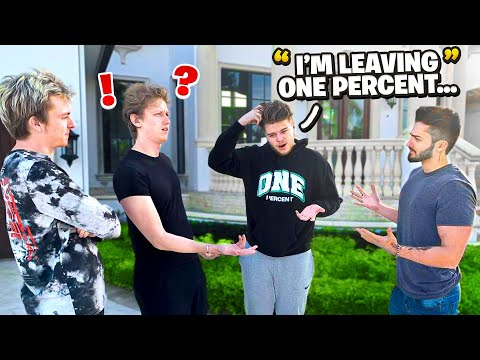I'm Leaving 1% PRANK!! *they were mad*